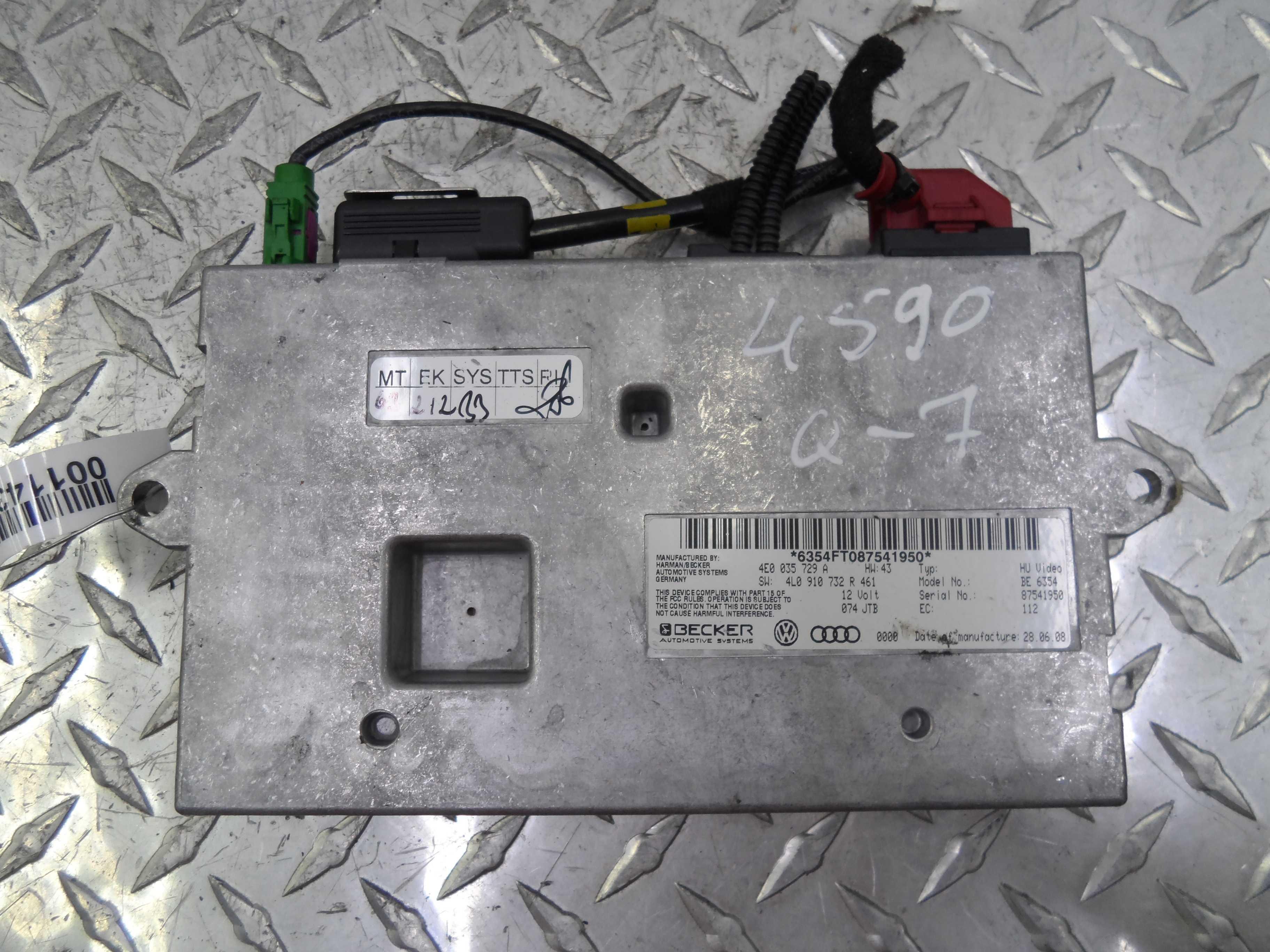 Блок мультимедиа   4E0035729A