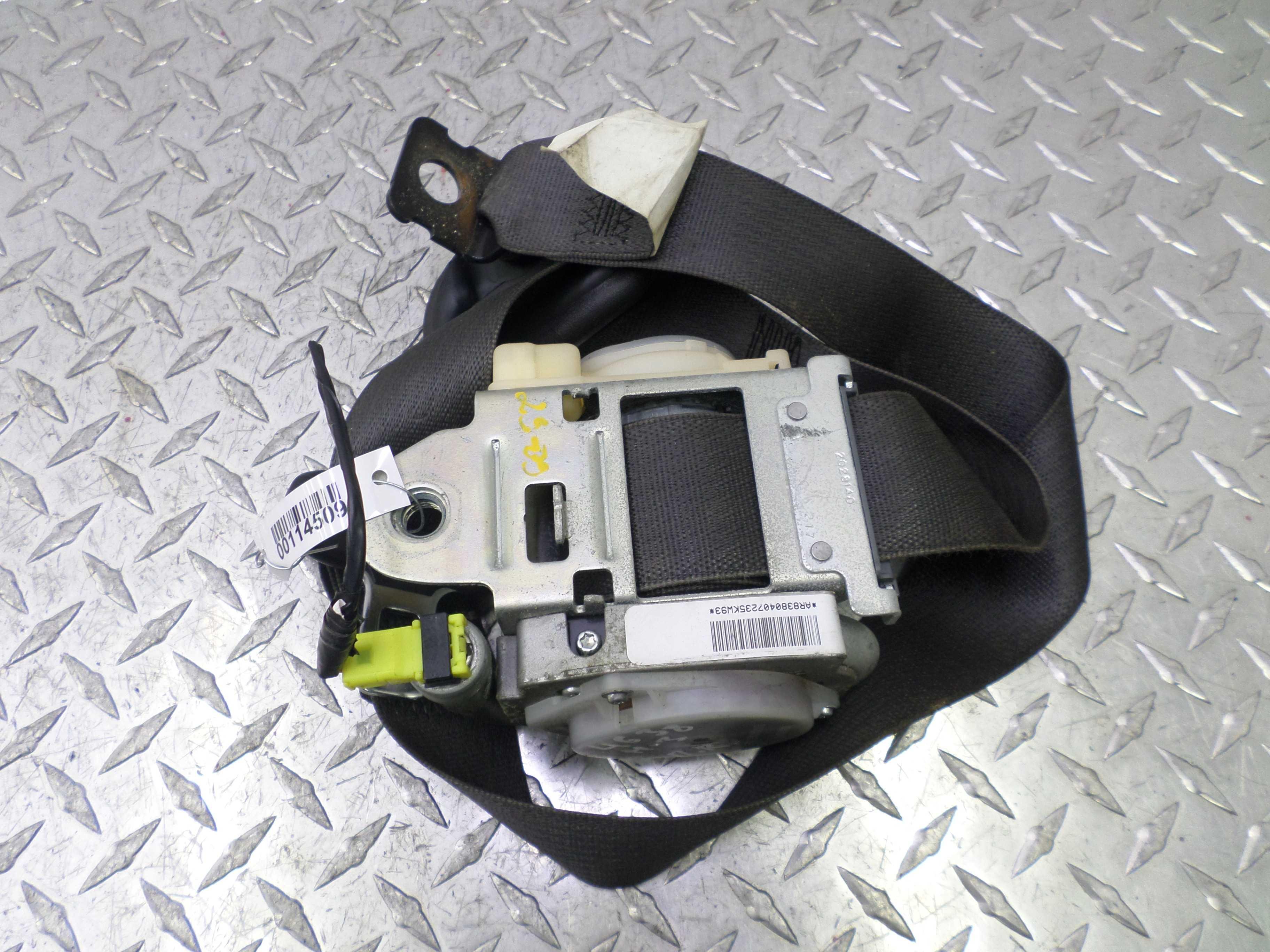 Ремень безопасности передний правый   15928380