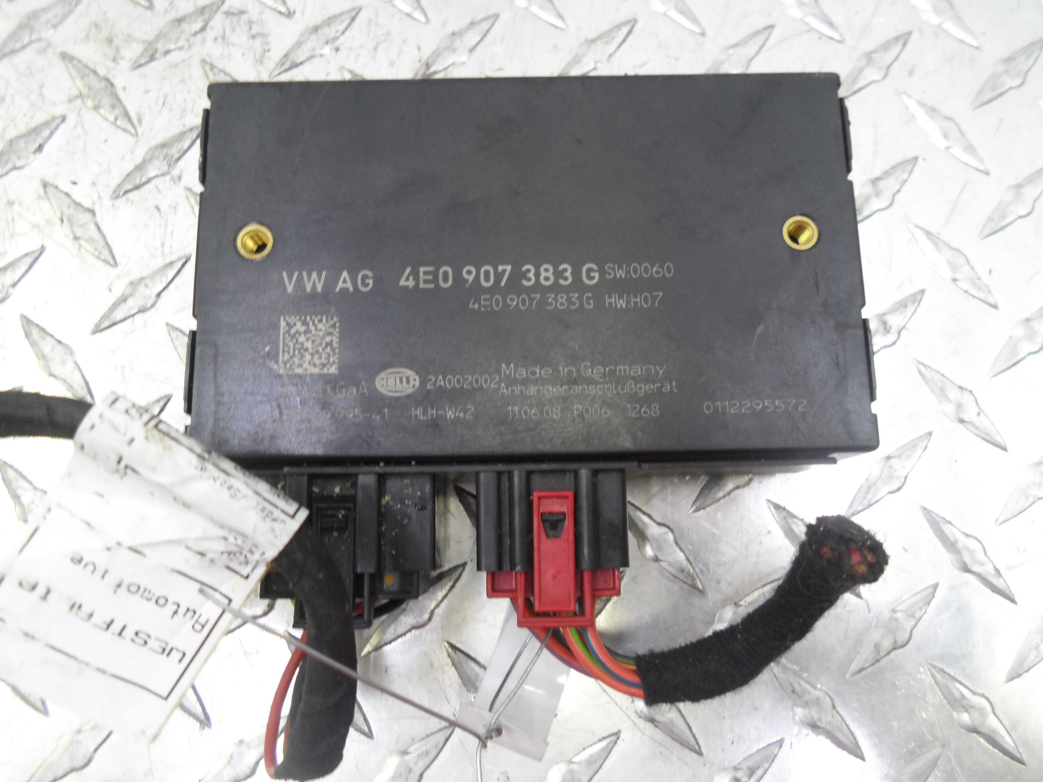 Блок управления прицепным устройством   4E0907383G